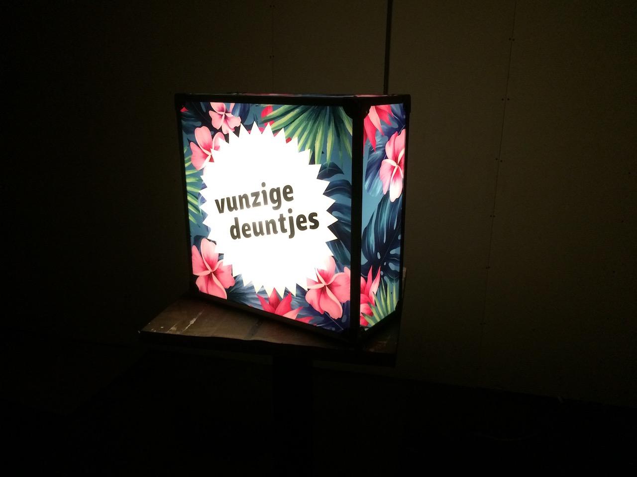 Lichtbak of lightbox huren of kopen voor op dj booth Amsterdam Rotterdam Eindhoven Utrecht